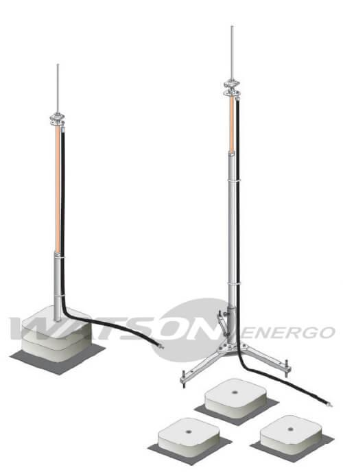 Додаткові елементи для ізольованого струмовідводу, AH Hardt