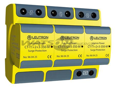 Разрядники CT-T1+2+3, Leutron