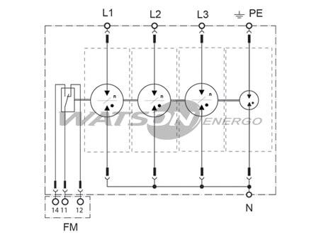 Розрядники CT-T1+2, Leutron