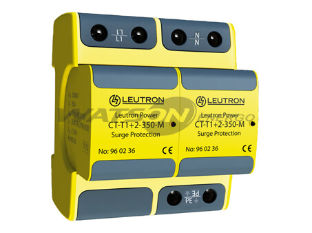 Разрядники CT-T1+2, Leutron