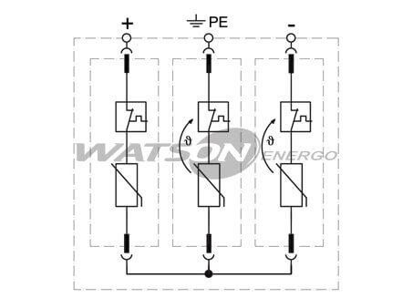 Разрядники CT-T2 PV, Leutron